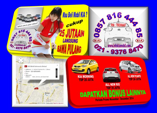 Promo KIA Akhir 2014 Tahun DP Murah di 021-9376 8470