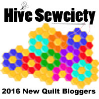Hive Sewciety Button Designed by Thistle Thicket Studio. www.thistlethicketstudio.com