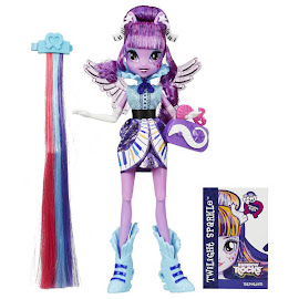 MLP Equestria Girls Rainbow Rocks Rockin' Hairstyle Twilight Sparkle Doll