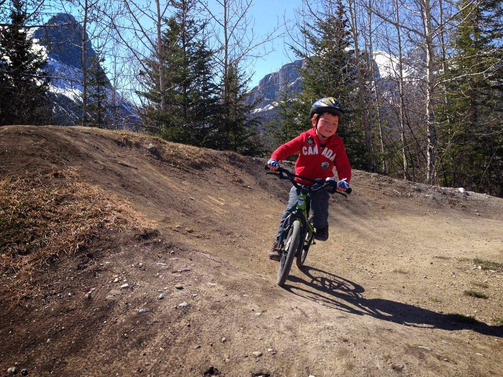 Family Adventures in the Canadian Rockies: Kids on Wheels - Pump