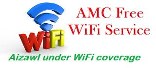 amc aizawl free wifi service