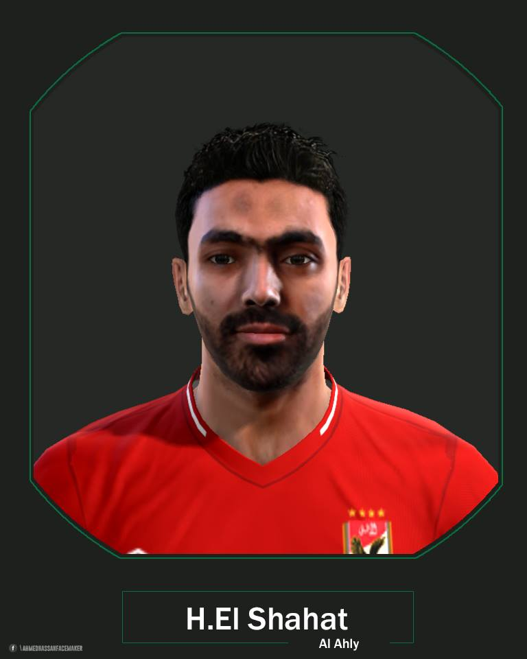 PES 2013 H. El Shahat face by A.hassan Facemaker
