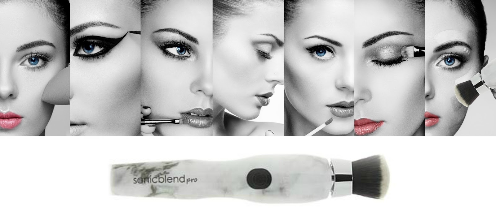 Pro Is The Way To Go, Flawless Makeup With Michael Todd Beauty Sonicblend Pro Marble Makeup Brush review by Barbies Beauty Bits