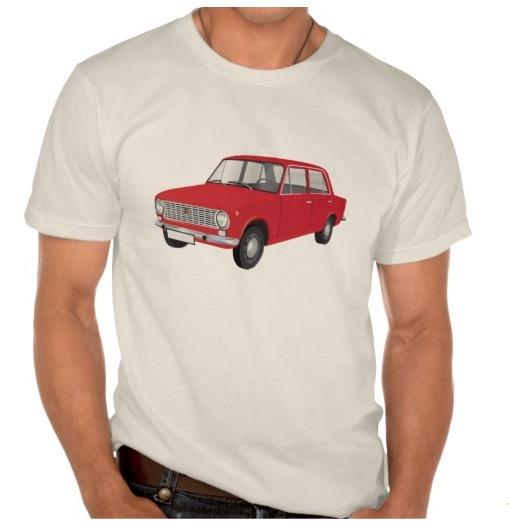 fiat, 124, t-shirt, paita