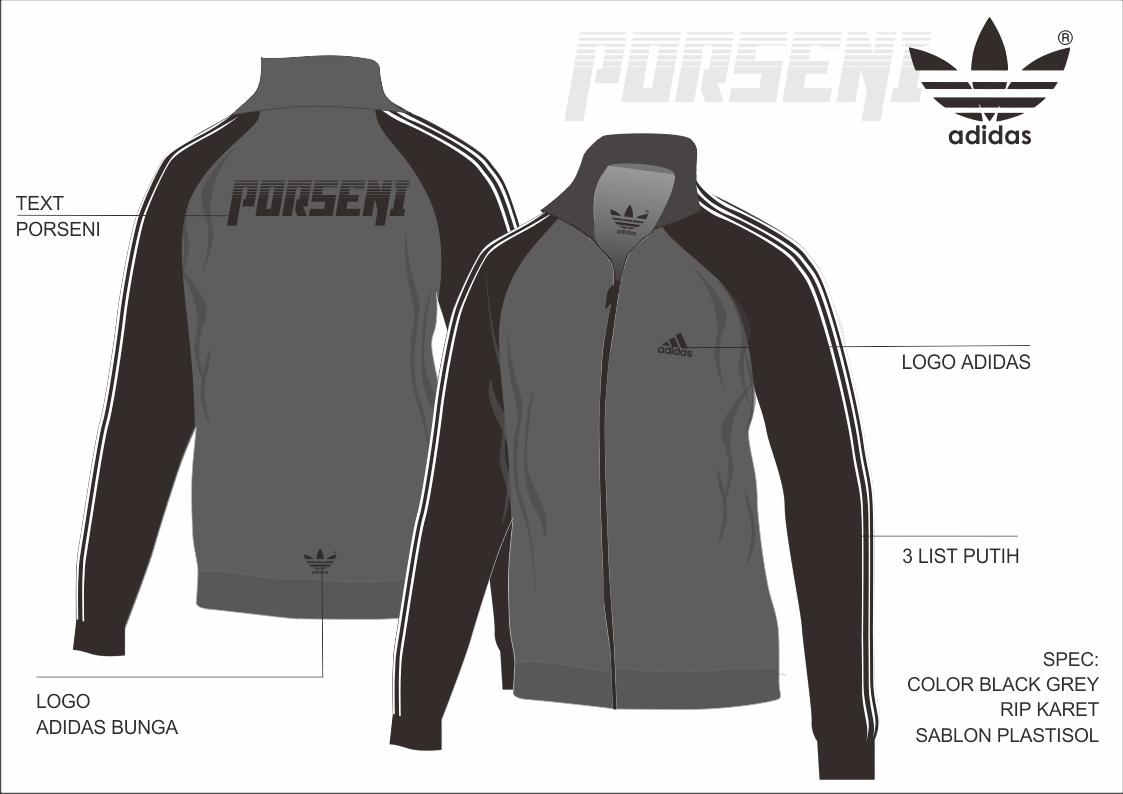 63 Desain Jaket Adidas HD Terbaru