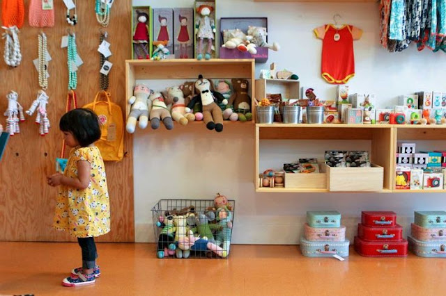 Lojas de brinquedos em San Francisco
