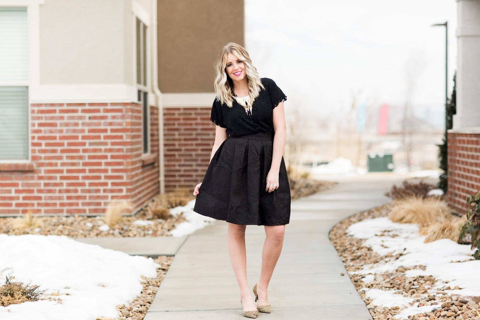 Black Outfit, Utah Fashion Blogger, Tara Lynn's