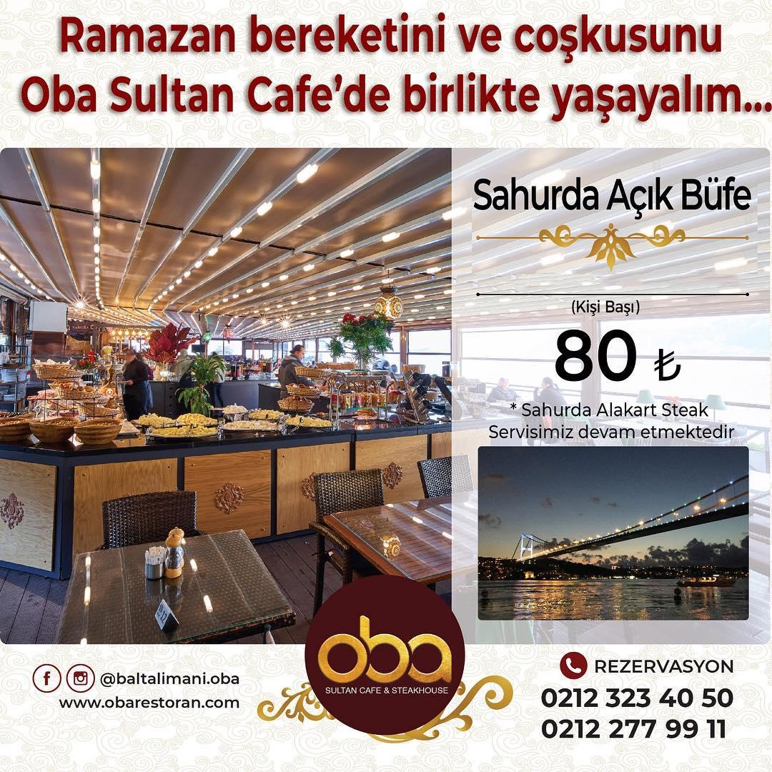 boğazda iftar mekanları 2019 boğazda iftar yemeği fiyatları boğazda iftar ve sahur mekanı oba restaurant iftar menüsü fiyatı