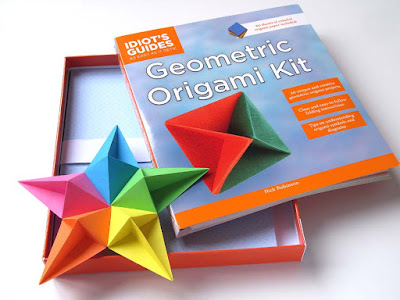 Diamond Star by Francesco Guarniei - Idiots's Guide: Geometric Origami Kit by Nick Robinson