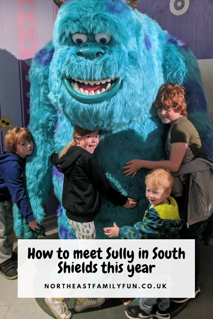 Sully from Monsters Inc. has taken up residence in South Shields - here's how to meet him (for free)