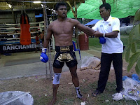Buakaw with his first trainer