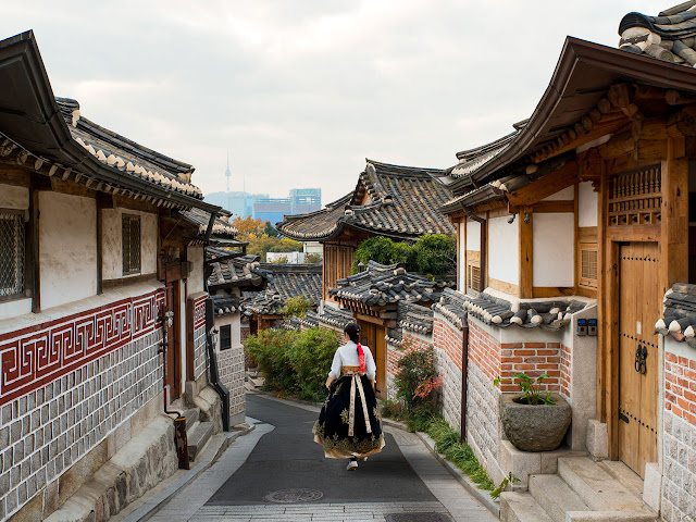 Honeymoon ke Korea Selatan - Bukchon Hanok Village