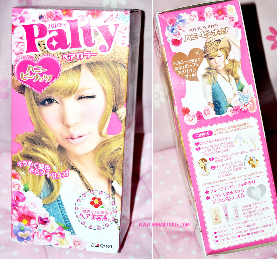 Palty Hair Dye Honey Peanut Review Indonesia Beauty And Travel