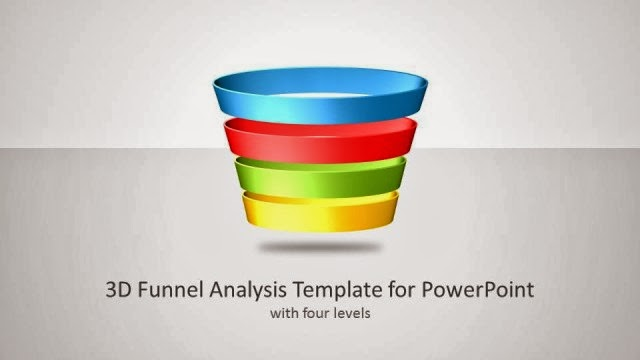 3D Funnel Shapes for PowerPoint