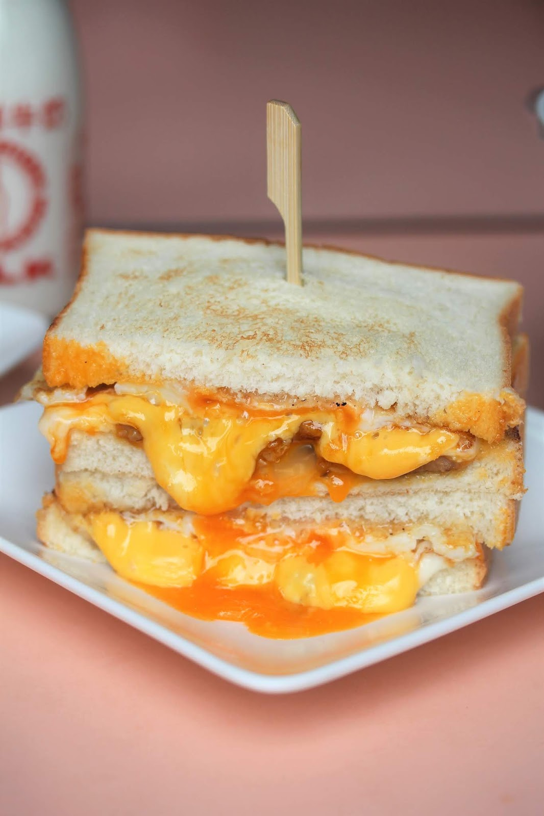 Singapore Japan Food Blog : Dairy and Cream: 【臺北中山】可蜜達Comida 炭烤吐司