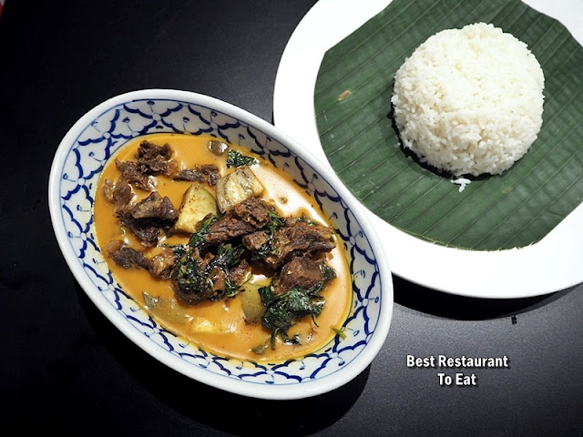 Stewed Beef Red Curry