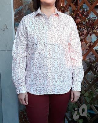 Archer grainline camisa patron  costura coseconmigodoble