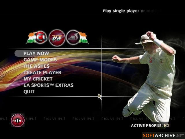 Download ea sports cricket 2009 patched 20 20 ipl | download game.
