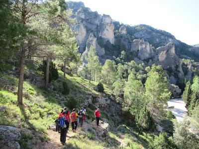 Javieres de Huesca ,montañeros, montaña,Puertos de Beceite, Ports de Beseit