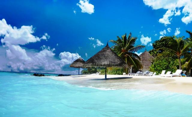 pantai paling indah dan mempesona maldives