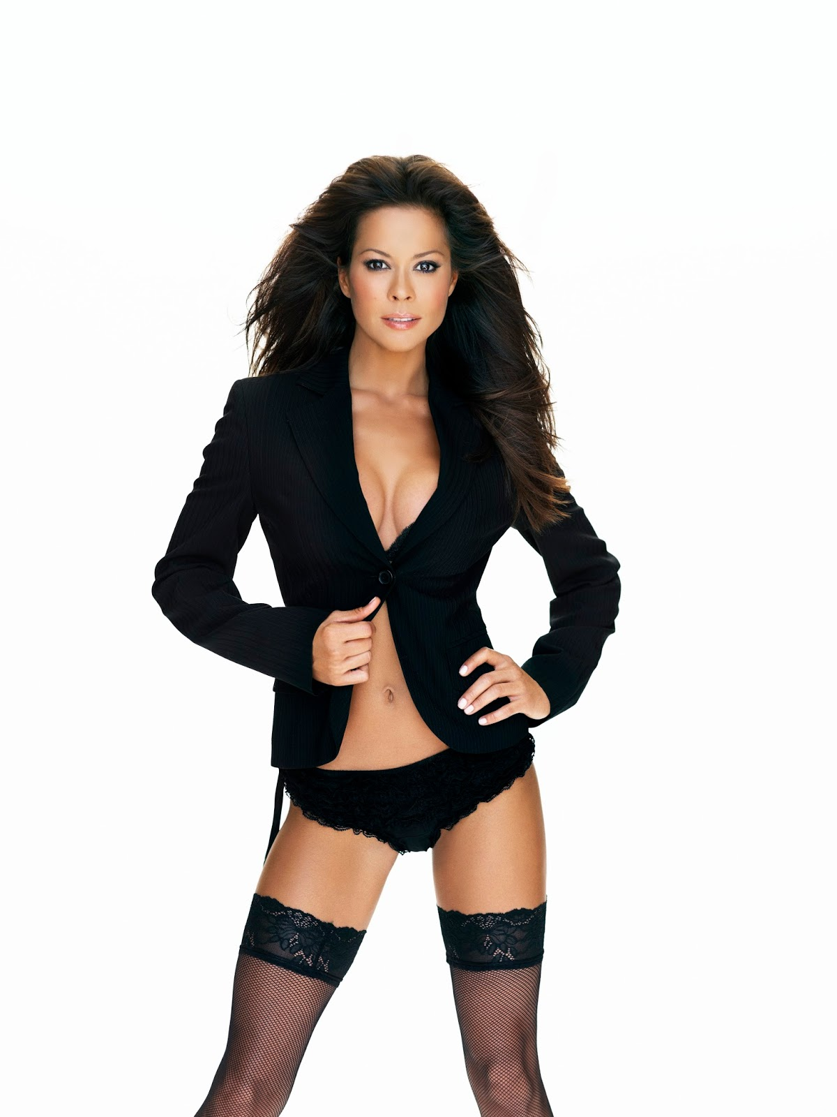 Brooke Burke sexy Chris Cuffaro Photoshoot