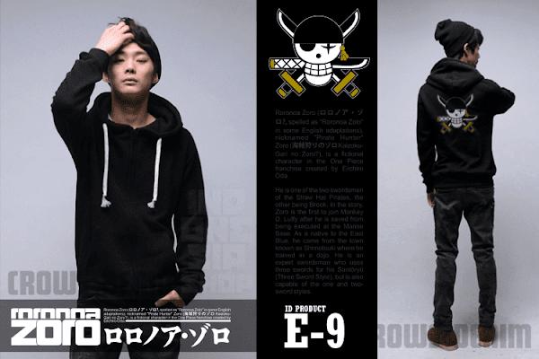 indonesia shop e9 jaket anime onepiece roronoa zoro