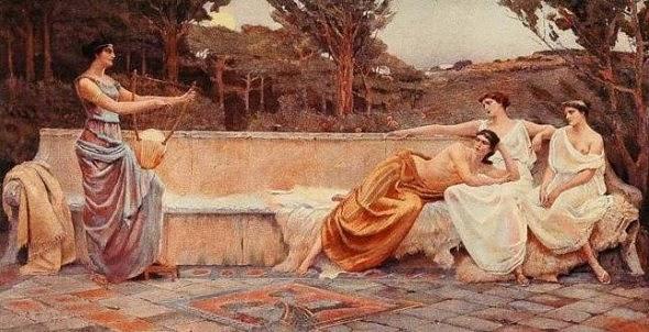 Resultado de imagen de safo cuadro 1896