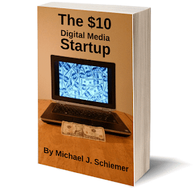 The $10 Digital Media Startup eBook available on Amazon Kindle