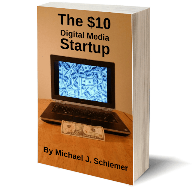 The $10 Digital Media Startup eBook available on Amazon Kindle