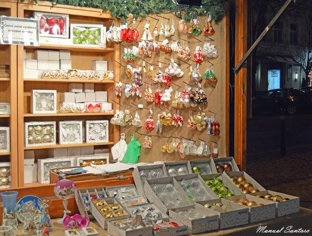 Praga, Mercatini di Natale in Piazza San Venceslao