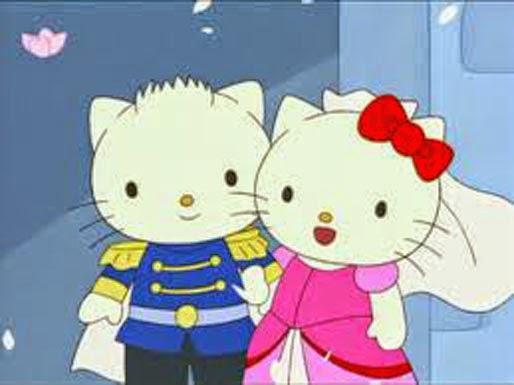 immagine hello kitty innamorata