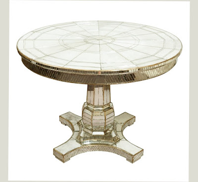 Venetian Mirror Dining Table With Good Material and Newest Design Photo 008