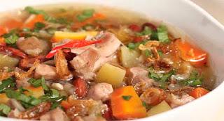 Resep Sup Ayam Kacang Merah Paling Enak
