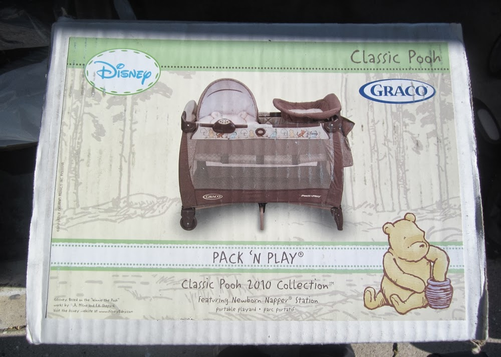 Items4sale Graco Pack N Play Classic Pooh Collection