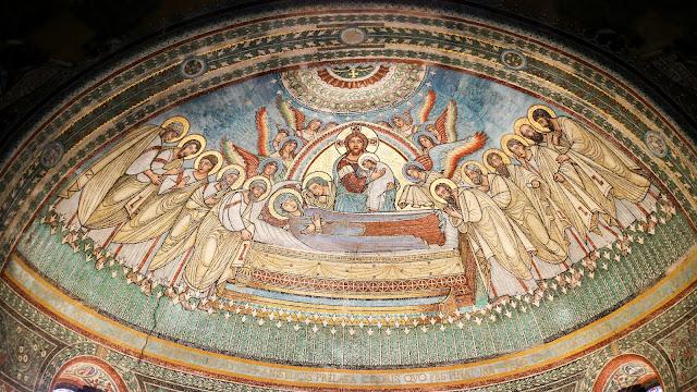 mosaico cristo toscana pisa soffitto chiesa cattedrale siena