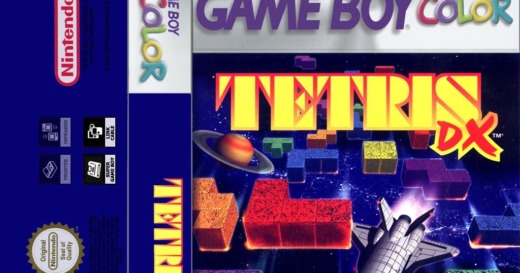 Solo una partida mas: Tetris DX Game boy color cassette cover