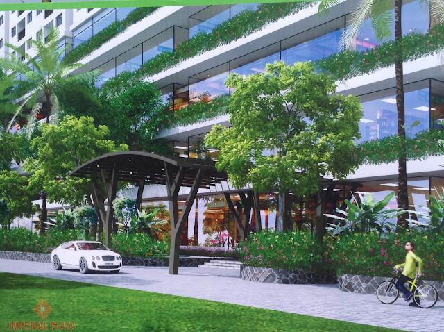 Không gian sống tại chung cư Imperial Plaza