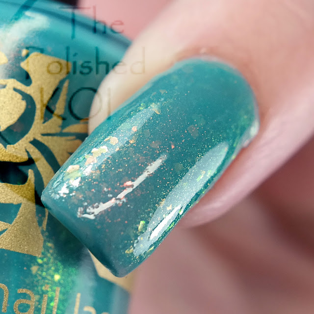 Bee's Knees Lacquer - Tahoe Tessie is Terrifying