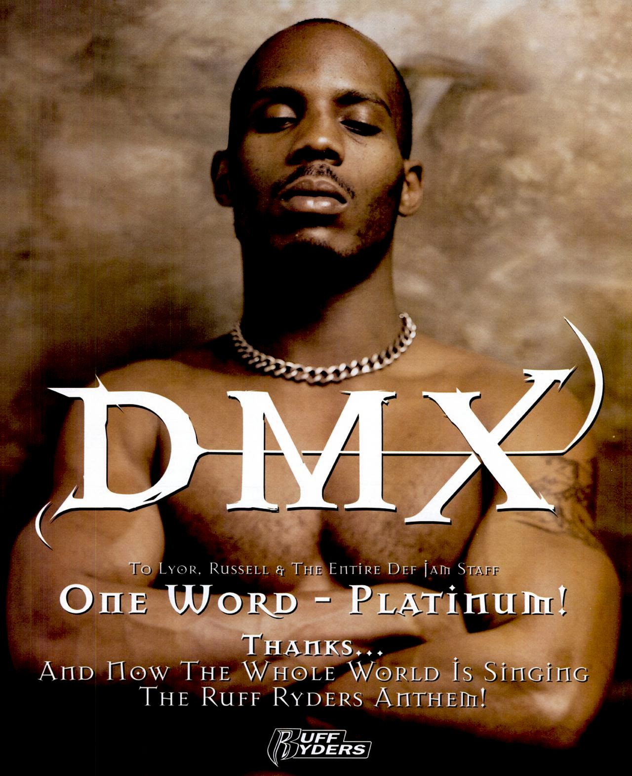 DMX 'It's Dark and Hell Is Hot' (May 19, 1998) Advertisement