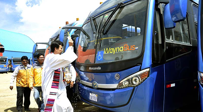 Servicio municipal trabaja con 32 de los 60 buses adquiridos hace tres años