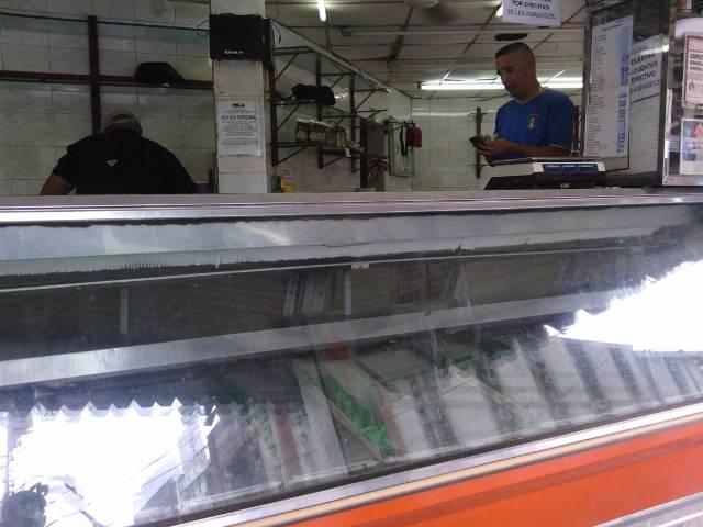 Carniceros asustados:Ni cuero de pollo se consigue en San Juan