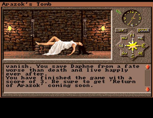 g冒険者: [Amiga] Arazok's Tomb (1987)