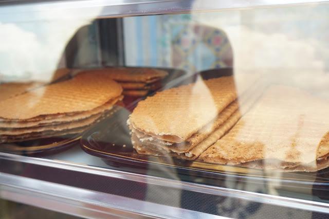 Malacca Jonker Street Night Market - Crispy Waffles