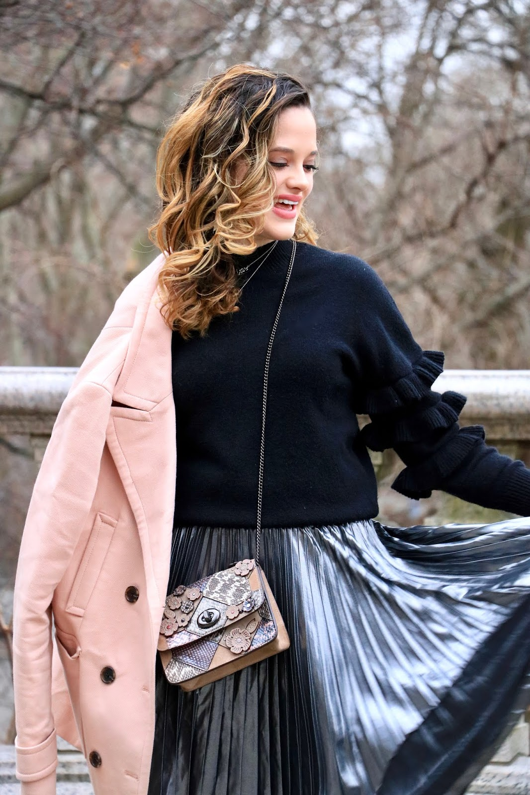 Nyc fashion blogger Kathleen Harper's winter outfits