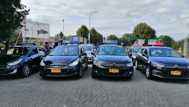Taxis colectivos