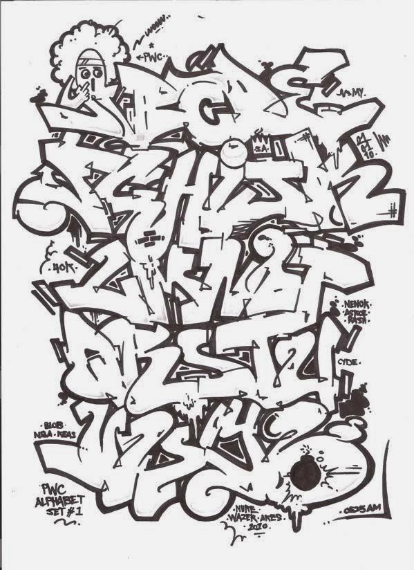 Graffiti Creator Letters