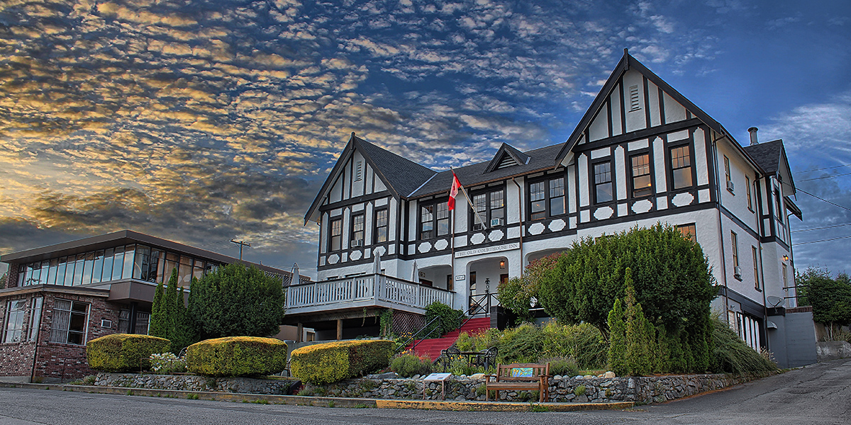 Welcome to The Old Courthouse Inn, a Boutique Heritage Hotel