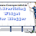 Add 125x125 Advertise Here Ad Banner Widget to Blogger