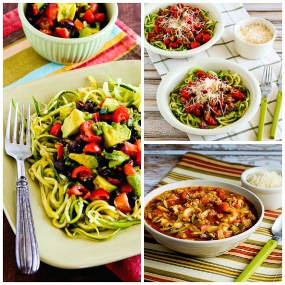 Ten Amazing Low-Carb Recipes for Zucchini Noodles, plus Honorable Mentions