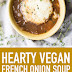 Hearty Vegan French Onion Soup